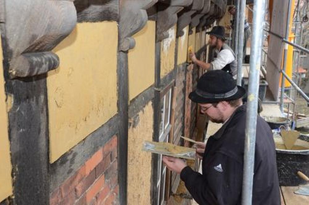 Deutsches fachwerkzentrum quedlinburg osterwieck for Fachwerk aussteifung